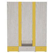 Шкаф 3Д3Ш AXEL A желтый Blonski