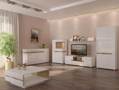 Модульная гостиная Letis белый Blonski