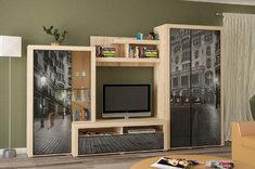 Стенка в гостиную Неон - 2 Мебель Сервис