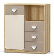 Комод Лами 1Д3Ш Мебель Сервис