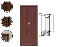 Шкаф 2D2S без зеркал Джоконда VMV Holding