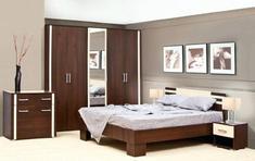 Модульная спальня Элегия Світ Меблів