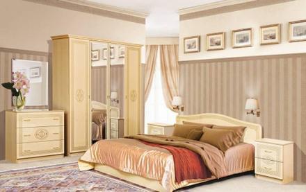 Модульная спальня Флоренция Світ Меблів