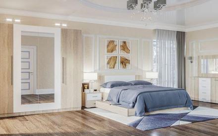 Модульная спальня Лилея Нова Світ Меблів