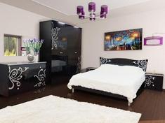 Спальня из ДСП Фелиция Новая 4Д Світ Меблів
