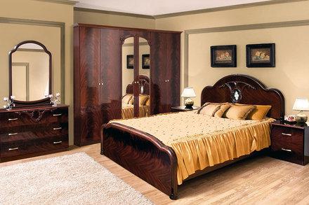 Модульная спальня Лаура Світ Меблів