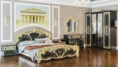 Спальня 4Д из ДСП Кармен Новая Люкс Світ Меблів