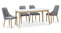 Комплект стол Cesar и стулья Trix Signal