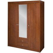 Шкаф с зеркалом распашной трехдверный платяной из ДСП DOVER 23 SZYNAKA