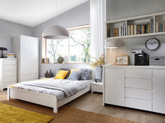 Модульная спальня KASPIAN белый BRW Польша