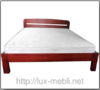 Кровать Октавия С2 90*190 см бук  2