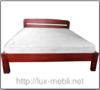 Кровать Октавия С2 Неомеблі 180*200 см бук 2