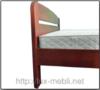Кровать Октавия С2 Неомеблі 180*200 см бук 4