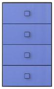 Комод 4s «Аватар» синий Gerbor