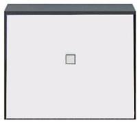 Тумба 1d (подставка) «Аватар» белый Gerbor