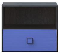 Тумба прикроватная 1s «Аватар» синий Gerbor
