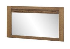 Зеркало с рамой из ДСП ламинированной шпоном дуба VELVET 80 SZYNAKA