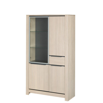 Витрина 4-дверная из ДСП с выдвижным ящиком MONEZ 01 SZYNAKA