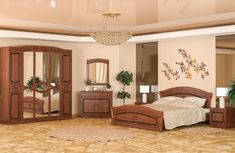 Спальня Милано 5Д Мебель Сервис