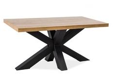 Стол обеденный Signal Cross (150) черный/дуб