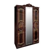 Шкаф 3Д Реджина перо рубино Миро-Марк