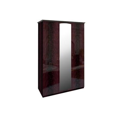 Шкаф 3 дверей комплект Футура Перо Рубино