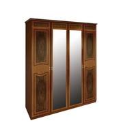Шкаф 4Д Примула вишня бюзум Миро-Марк