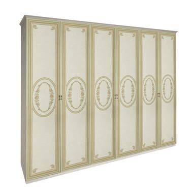 Шкаф 6 дверей без зеркал комплект Примула Радика Бежевый