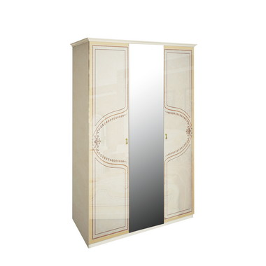Шкаф 3 дверей комплект Мартина Радика Бежевый