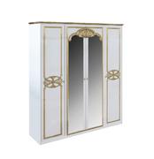 Шкаф 4 дверей комплект Ева