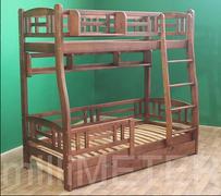 Двухъярусная кровать Лиана 1 Millimeter ольха