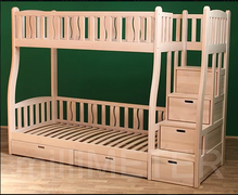 Двухъярусная кровать Лиана 2 Millimeter ольха