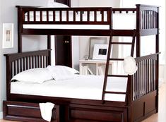 Двухъярусная кровать Жасмин 1 Millimeter липа