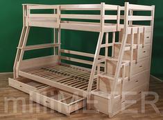 Двухъярусная кровать София Millimeter ольха