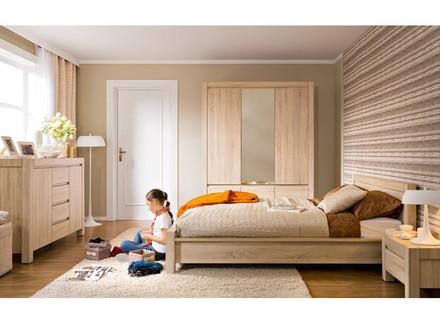 Модульная спальня Agustyn BRW Польша