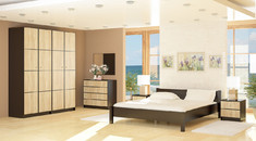 Модульная спальня Фантазия Мебель Сервис