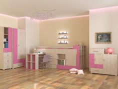 Детская модульная система Snoopy розовый Blonski