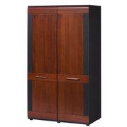 Шкаф распашной двухдверный платяной с фасадом из массива дуба VIEVIEN 72 SZYNAKA