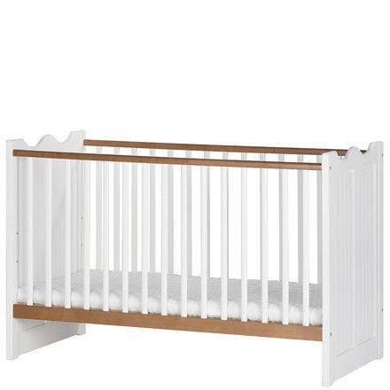 Детская кроватка из шпона березы PRINCESSA 09 SZYNAKA 70*140 см массив березы
