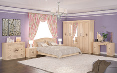 Спальня Флорис 5Д Мебель Сервис