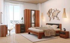 Модульная спальня Martina Blonski слива