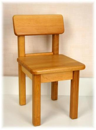Детский стульчик из натурального дерева Верес