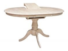 Стол обеденный раскладной 1,06 из натурального дерева Анжелика V Domini крем
