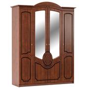 Шкаф Барокко 4Д Мебель Сервис