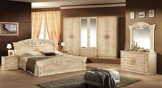 Спальня Рома 4Д Мебель Сервис