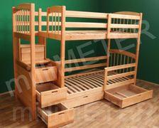 Двухъярусная кровать Рената 2 Millimeter ясень