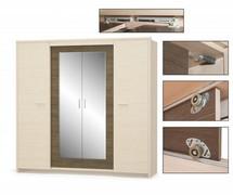 Шкаф Кантри 4Д Мебель Сервис