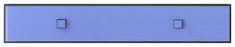 Полка 1d 120 «Аватар» синий Gerbor