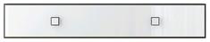 Полка 1d 120 «Аватар» белый Gerbor