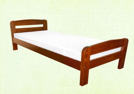 Кровать Октавия С2 90*190 см бук